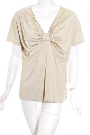 Allude T-shirt beige elegante