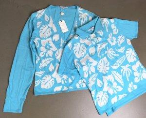 Allude Twin set in maglia multicolore Cotone