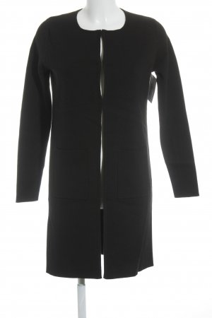 Allude Between-Seasons-Coat black casual look