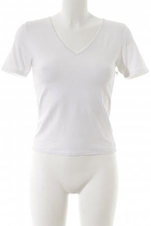 Allude V-Neck Shirt white casual look