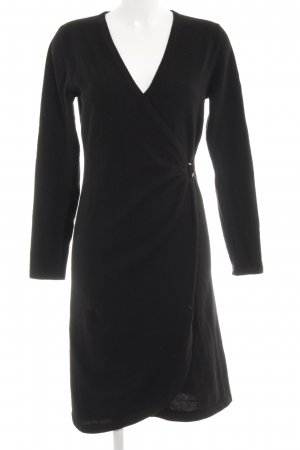 Allude Woolen Dress black elegant