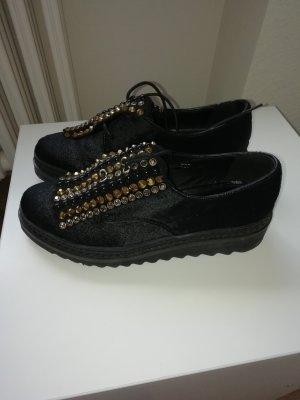 Alma en Pena Lace Shoes black