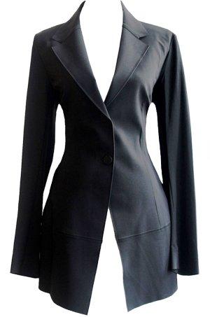 Blazer noir polyamide