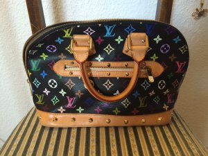 Alma PM Monogram Multicolore Canvas