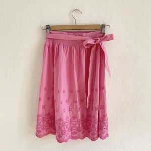 Almenrausch Grembiule tradizionale rosa chiaro-rosa Cotone