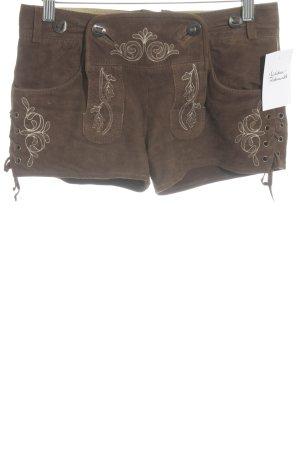 Almenrausch Pantalon bavarois brun style campagnard