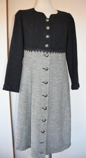 Almrausch  - Trachten Kleid mit Wolle für den Winter Gr. 40/42