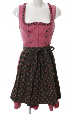 Almsach Dirndl Blumenmuster Party-Look