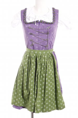 Almsach Dirndl allover print classic style