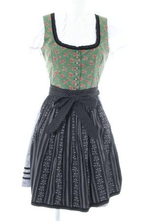 Almsach Vestido Dirndl estampado floral estilo country