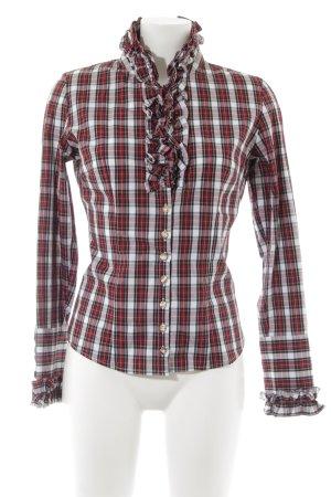Almsach Camisa de leñador estampado a cuadros estilo clásico