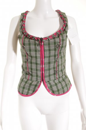 Almsach Traditional Vest floral pattern country style