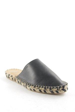 Alohas Espadrille Sandals black-oatmeal Boho look