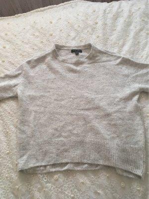 Amisu Jersey largo gris claro