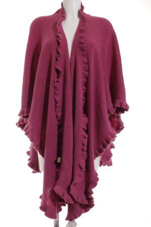 Alpaca Fina Capa violeta estilo extravagante