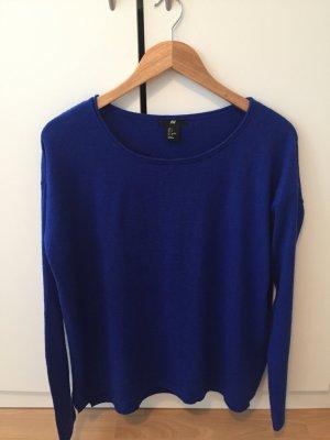 Alpaka Pullover in blau