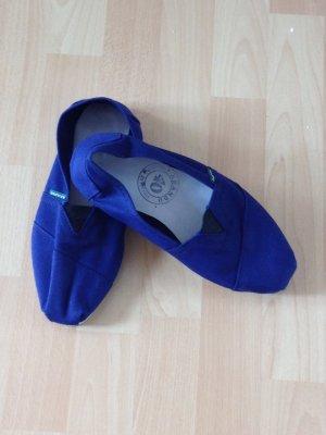 Alpargatas azul
