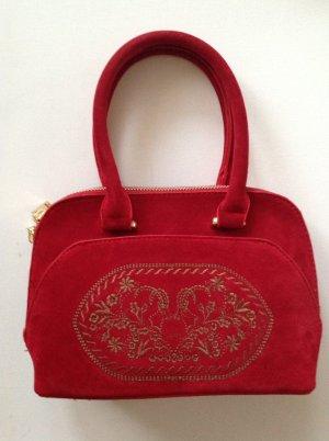 Original Alpentrachten Folkloristische tas rood