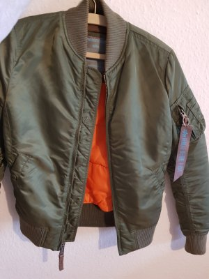 Alpha Industries Giacca bomber cachi