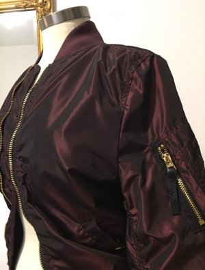 Alpha Industries Bomber Jacket bordeaux