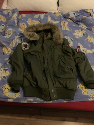 Alpha Industries Winter Jacket forest green