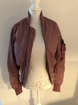 Alpha Industries Bomber Jacket rose-gold-coloured