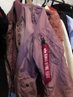 Alpha Industries Giacca bomber rosa-rosso