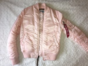 Alpha Industries Bomber Jacket light pink-pink