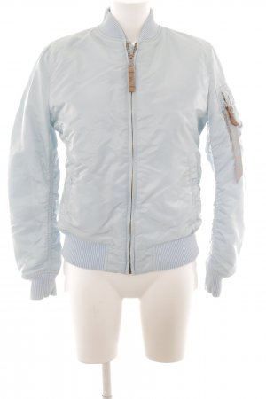 Alpha Industries Bomber Jacket azure casual look