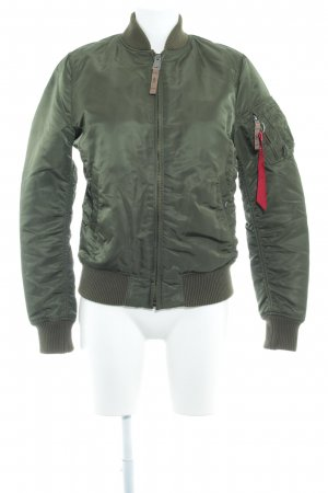 Alpha Industries Bomberjacke khaki Casual-Look