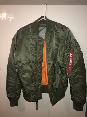 Alpha Industries Bomber Jacket olive green-khaki