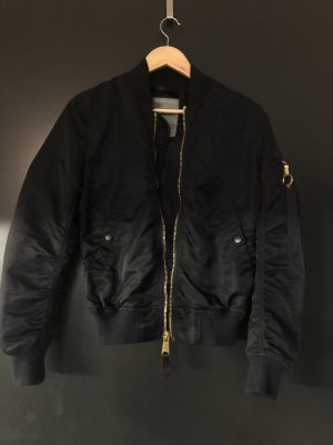 Alpha Industries Giacca bomber oro-blu scuro