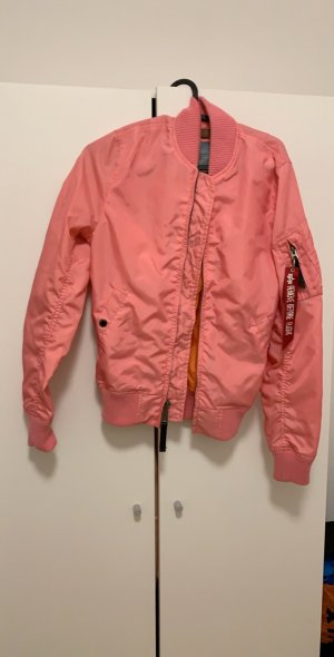 Alpha Industries Bomber Jacket pink-neon pink