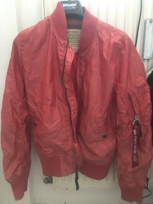 Alpha Industries Blouson aviateur rouge