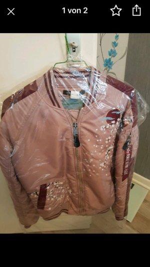 Alpha Industries Bomber Jacket pink-rose-gold-coloured