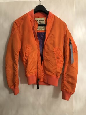 Alpha Industries Bomber Jacket orange