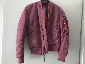 Alpha industries Jacke xs neu pink Herbst pilotenjacke bomberjacke
