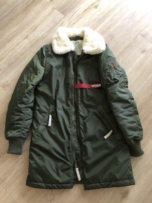 Alpha Manteau d'hiver kaki