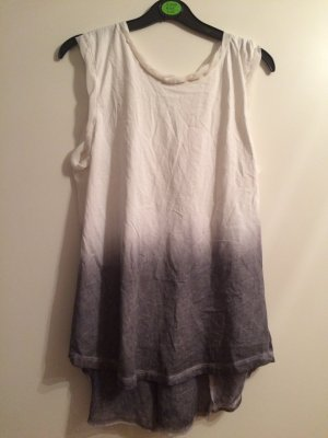 Alpha Studio cooles Shirt Farbverlauf Batikstyle Gr S/M Oversized  Bloggerfash