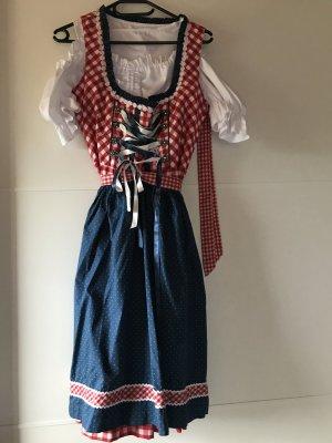 Vestido tradicional multicolor