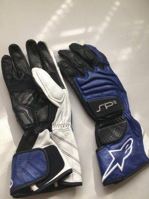 Leren handschoenen veelkleurig Leer