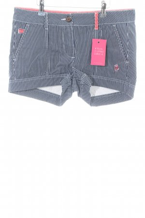Alprausch Denim Shorts striped pattern casual look