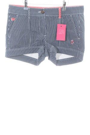 Alprausch Pantaloncino di jeans motivo a righe stile casual