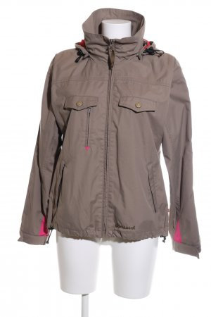 Alprausch Hoody brown-pink casual look