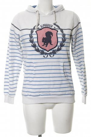 Alprausch Hooded Sweatshirt themed print athletic style