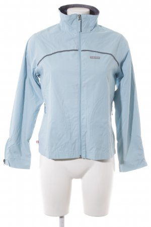 Alprausch Short Jacket grey-light blue athletic style