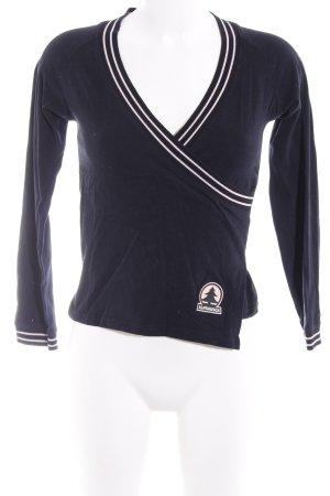 Alprausch Longsleeve dark blue-pink simple style