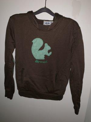 Alprausch Capuchon sweater bruin-bos Groen