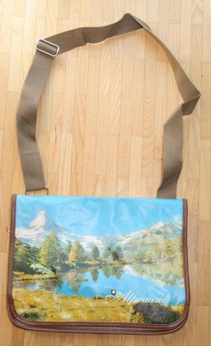 ALPRAUSCH Tasche mit Fotodruck Matterhorn Schultertasche