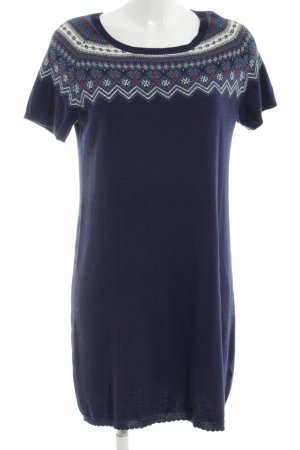 Alprausch Woolen Dress multicolored casual look